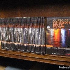 Libros de segunda mano: CURSO DE FOTOGRAFIA DIGITAL EN DVD 40 DE AGOSTINI. Lote 137443662