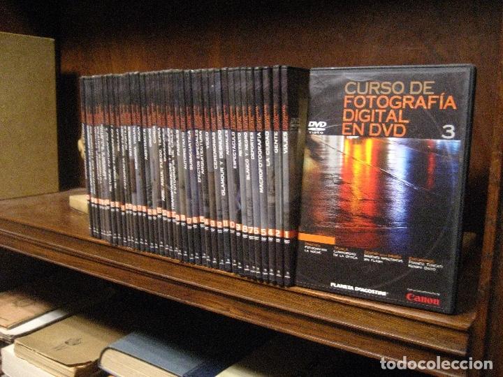 Libros de segunda mano: CURSO DE FOTOGRAFIA DIGITAL EN DVD 40 DE AGOSTINI - Foto 2 - 137443662