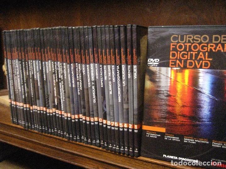 Libros de segunda mano: CURSO DE FOTOGRAFIA DIGITAL EN DVD 40 DE AGOSTINI - Foto 3 - 137443662