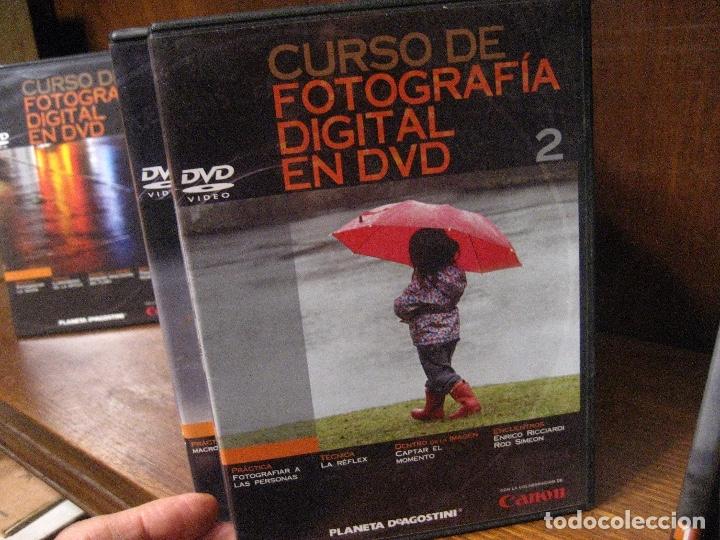 Libros de segunda mano: CURSO DE FOTOGRAFIA DIGITAL EN DVD 40 DE AGOSTINI - Foto 5 - 137443662