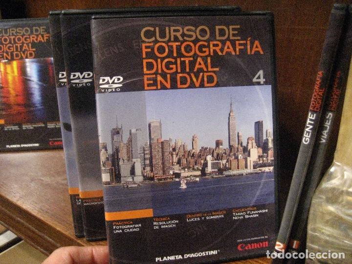 Libros de segunda mano: CURSO DE FOTOGRAFIA DIGITAL EN DVD 40 DE AGOSTINI - Foto 6 - 137443662