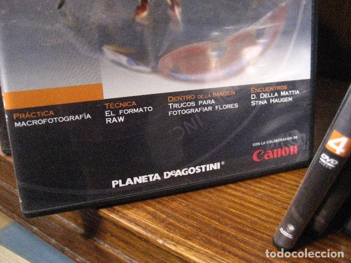 Libros de segunda mano: CURSO DE FOTOGRAFIA DIGITAL EN DVD 40 DE AGOSTINI - Foto 7 - 137443662