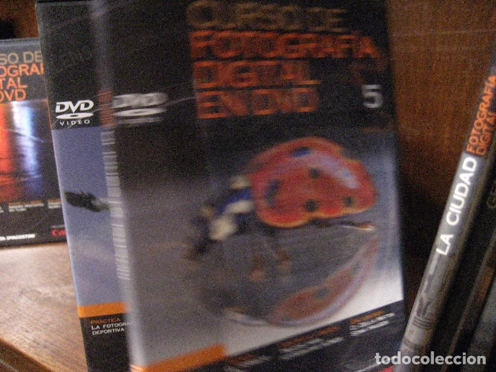 Libros de segunda mano: CURSO DE FOTOGRAFIA DIGITAL EN DVD 40 DE AGOSTINI - Foto 8 - 137443662