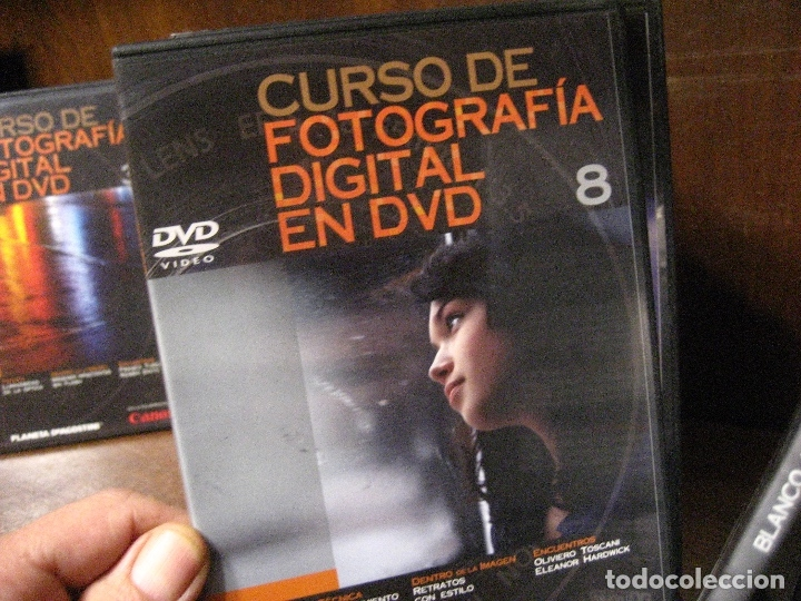 Libros de segunda mano: CURSO DE FOTOGRAFIA DIGITAL EN DVD 40 DE AGOSTINI - Foto 14 - 137443662