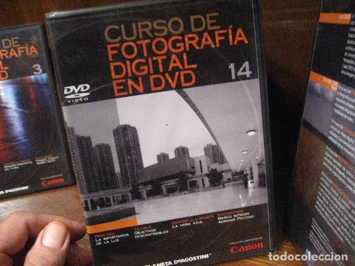 Libros de segunda mano: CURSO DE FOTOGRAFIA DIGITAL EN DVD 40 DE AGOSTINI - Foto 27 - 137443662