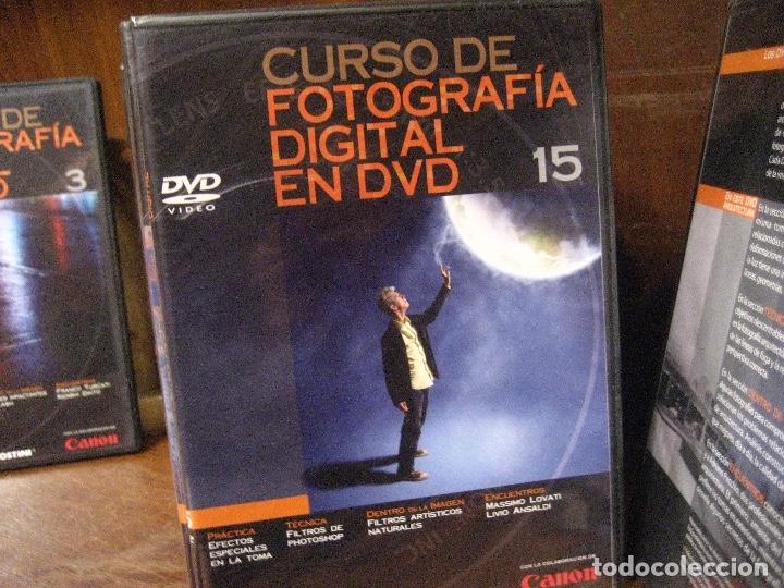 Libros de segunda mano: CURSO DE FOTOGRAFIA DIGITAL EN DVD 40 DE AGOSTINI - Foto 30 - 137443662