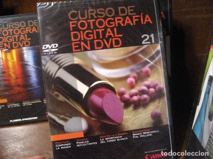 Libros de segunda mano: CURSO DE FOTOGRAFIA DIGITAL EN DVD 40 DE AGOSTINI - Foto 42 - 137443662