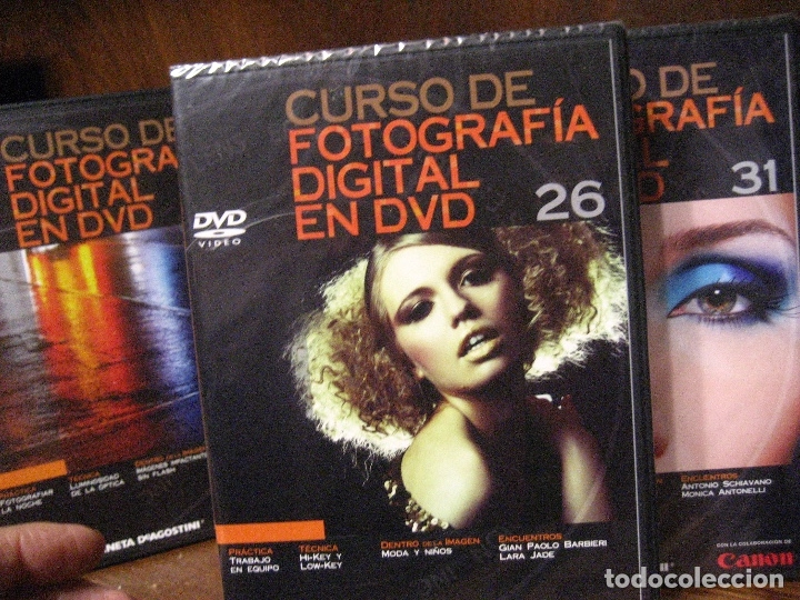 Libros de segunda mano: CURSO DE FOTOGRAFIA DIGITAL EN DVD 40 DE AGOSTINI - Foto 48 - 137443662