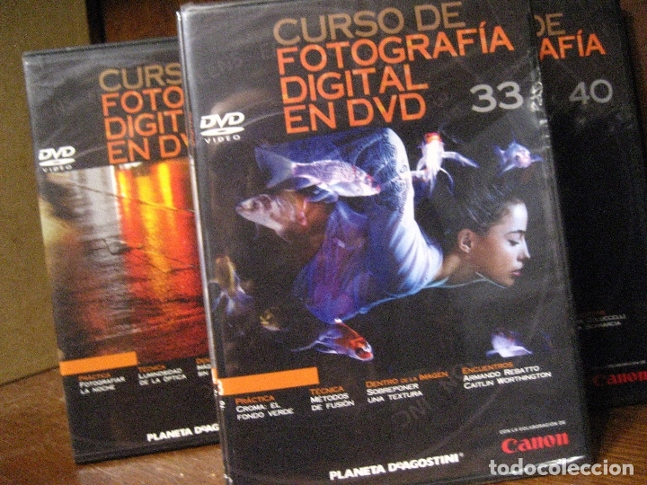 Libros de segunda mano: CURSO DE FOTOGRAFIA DIGITAL EN DVD 40 DE AGOSTINI - Foto 63 - 137443662