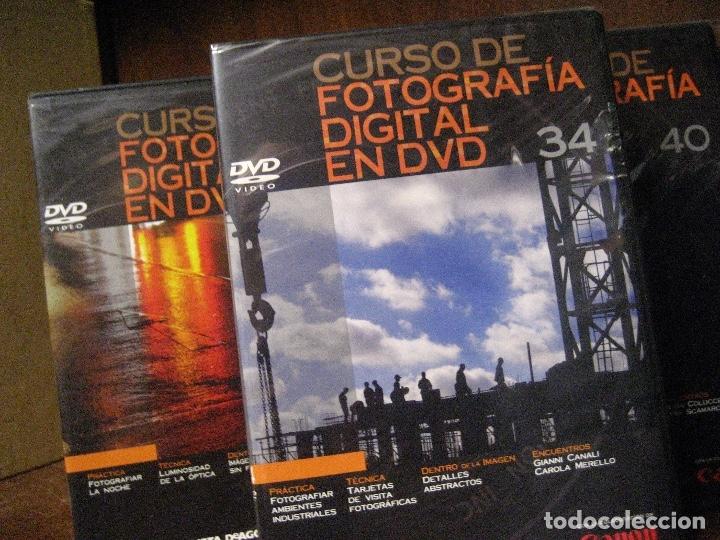 Libros de segunda mano: CURSO DE FOTOGRAFIA DIGITAL EN DVD 40 DE AGOSTINI - Foto 65 - 137443662