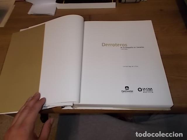 Libros de segunda mano: DERROTEROS DE LA FOTOGRAFÍA EN CANARIAS ( 1839 - 2000 ). CARMELO VEGA DE LA ROSA. 2002. VER FOTOS. - Foto 3 - 137515678