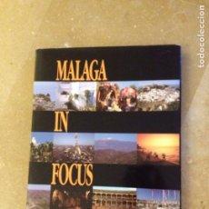 Libros de segunda mano: MALAGA IN FOCUS. Lote 139046996