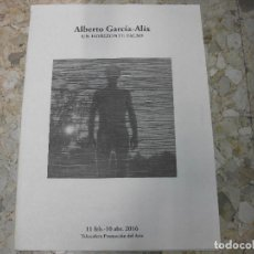Libros de segunda mano: ALBERTO GARCIA-ALIX CATALOGO EXPOSICION UN HORIZONTE FALSO 2016 MADRID FOTOGRAFIA. Lote 139284110