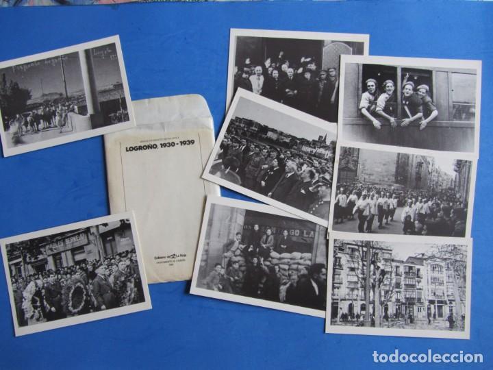 Libros de segunda mano: Logroño 1930-1939 Archivo fotografico Doctor Loyola. + Sobre con 8 postales. Ayunt. Logroño 1986 - Foto 2 - 139642810