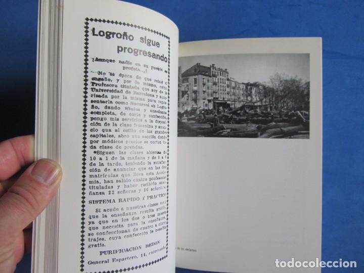 Libros de segunda mano: Logroño 1930-1939 Archivo fotografico Doctor Loyola. + Sobre con 8 postales. Ayunt. Logroño 1986 - Foto 9 - 139642810