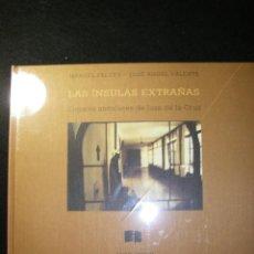 Libros de segunda mano: LAS ÍNSULAS EXTRAÑAS. MANUEL FALCES, JOSÉ ÁNGEL VALENTE. DESCATALOGADO, NUEVO, PRECINTADO. Lote 171971878