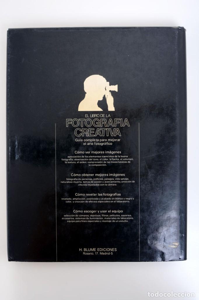 Libros de segunda mano: John Hedgecoe, El libro de la Fotografía creativa, H. Blume ediciones - Foto 2 - 141134846