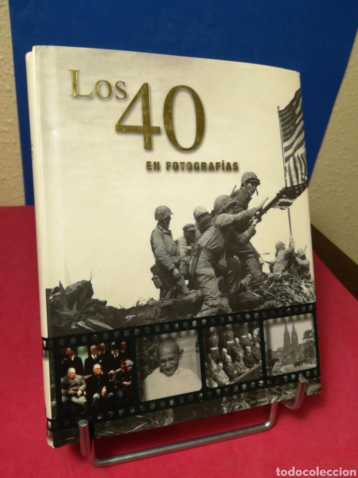 LOS CUARENTA 40 EN FOTOGRAFÍAS - JAMES LESCOTT - PARRAGÓN, 2008 (Libros de Segunda Mano - Bellas artes, ocio y coleccionismo - Diseño y Fotografía)