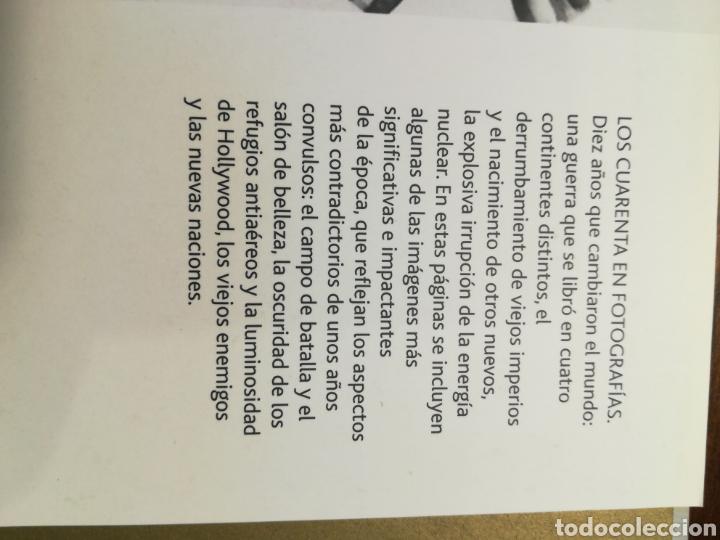 Libros de segunda mano: Los cuarenta 40 en fotografías - James Lescott - Parragón, 2008 - Foto 4 - 141747618