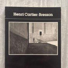 Libros de segunda mano - Henri Cartier-Bresson. EN FRANCÉS - 141929162