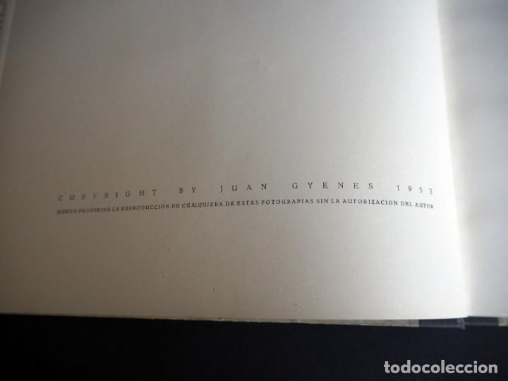 Libros de segunda mano: BALLET ESPAÑOL. FOTOGRAFÍAS DE JUAN GYENES. Con dedicatoria del fotografo. 1953 - Foto 6 - 142893934