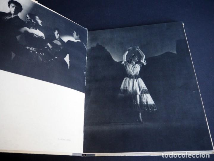 Libros de segunda mano: BALLET ESPAÑOL. FOTOGRAFÍAS DE JUAN GYENES. Con dedicatoria del fotografo. 1953 - Foto 9 - 142893934
