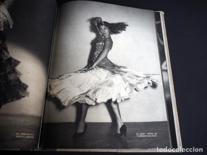Libros de segunda mano: BALLET ESPAÑOL. FOTOGRAFÍAS DE JUAN GYENES. Con dedicatoria del fotografo. 1953 - Foto 13 - 142893934