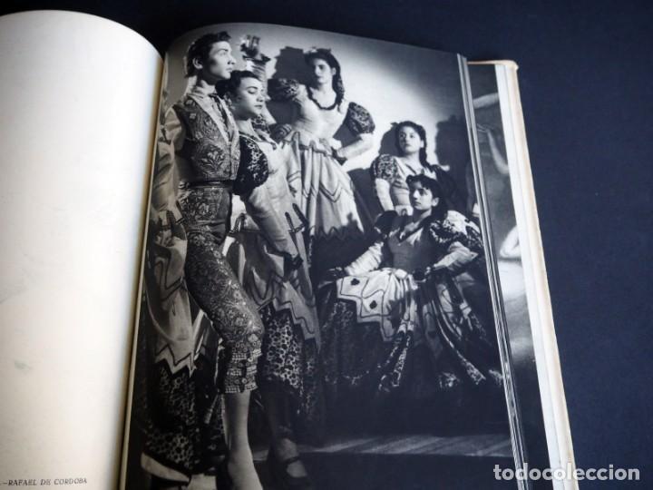 Libros de segunda mano: BALLET ESPAÑOL. FOTOGRAFÍAS DE JUAN GYENES. Con dedicatoria del fotografo. 1953 - Foto 17 - 142893934