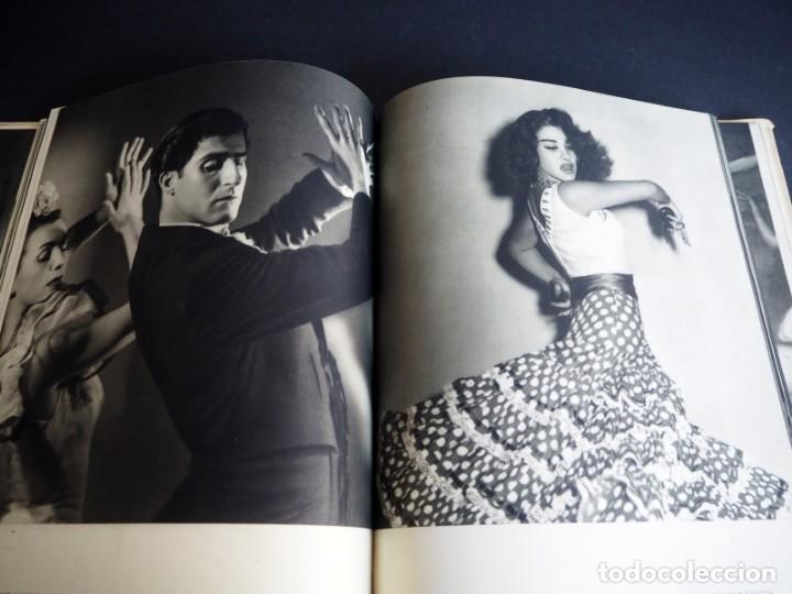 Libros de segunda mano: BALLET ESPAÑOL. FOTOGRAFÍAS DE JUAN GYENES. Con dedicatoria del fotografo. 1953 - Foto 18 - 142893934