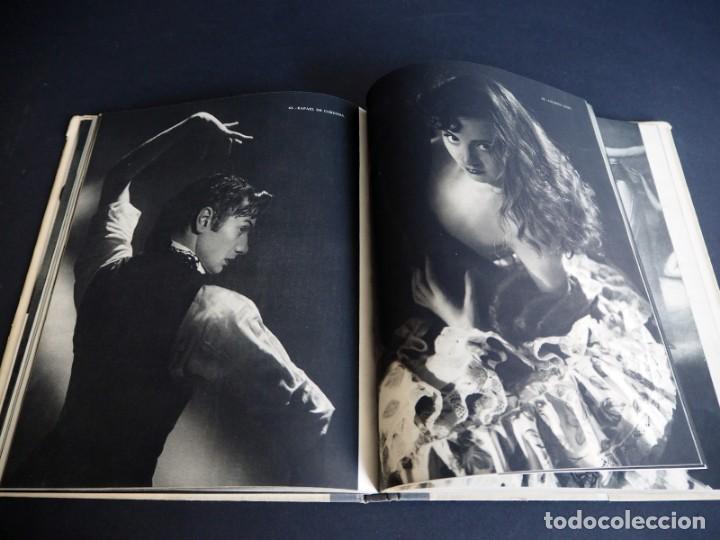 Libros de segunda mano: BALLET ESPAÑOL. FOTOGRAFÍAS DE JUAN GYENES. Con dedicatoria del fotografo. 1953 - Foto 19 - 142893934