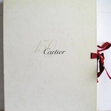 Libros de segunda mano: CARTIER 1847-1997, 150 ANS D'HISTOIRE ET BEAUCOUP D'AMOUR - LUJOSO LIBRO CON ESTUCHE. Lote 143328086