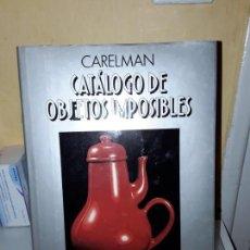 Libros de segunda mano: CATALOGO DE OBJETOS IMPOSIBLES.. Lote 143526986