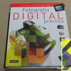 Libros de segunda mano: GARCES, SANTIAGO/ VIGUE, JORDI: ATLAS ILUSTRADO DE FOTOGRAFÍA DIGITAL PRÁCTICA. Lote 143584978
