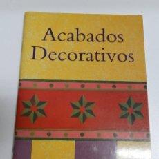 Libros de segunda mano: ACABADOS DECORATIVOS - KEVIN TENNEY - ED. KONEMANN 1998 -. Lote 143678558