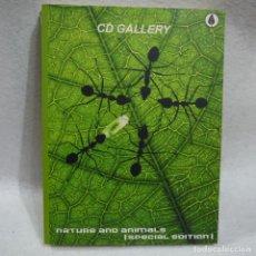 Libros de segunda mano: CD GALLERY. NATURE AND ANIMALS. SPECIAL EDITION. Lote 144122438