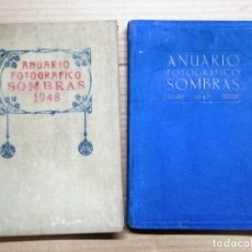 Libros de segunda mano: DOS LIBROS ANUARIO FOTOGRAFICO ESPAÑOL SOMBRAS 1948 Y 1946 - FOTOGRAFIA - EDICIONES BIBLIS. Lote 144248754