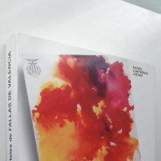 Libros de segunda mano: LOS CARTELES DE FALLAS DE VALENCIA - RAFAEL CONTRERAS JUESAS . Lote 144853646
