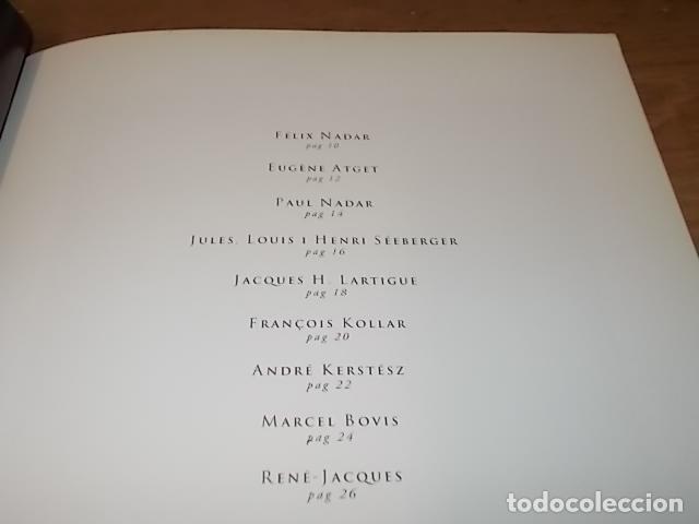 Libros de segunda mano: CENT CINQUANTA ANYS DE FOTOGRAFIA FRANCESA. SA NOSTRA.1ª EDICIÓN 1995.FÉLIX NADAR, KERSTÉSZ, RONIS.. - Foto 4 - 146622926