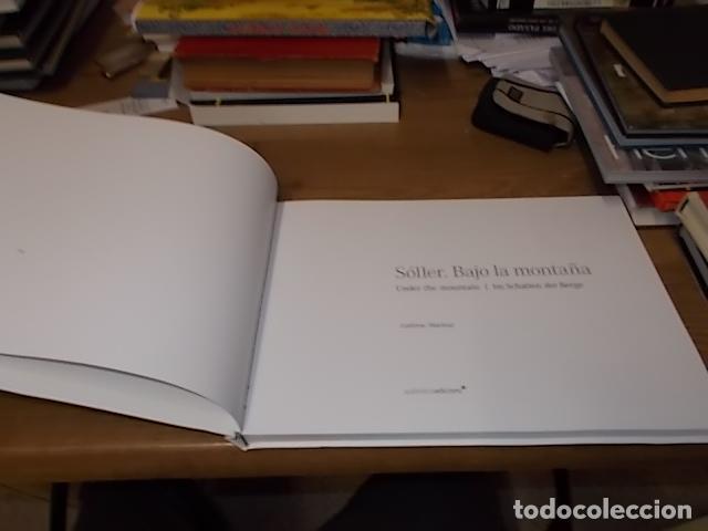 Libros de segunda mano: SÓLLER .BAJO LA MONTAÑA. IMÁGENES DE SÓLLER Y SU GENTE. FOTOGRAFÍAS ANDREW MACLEAR. 2007. MALLORCA - Foto 3 - 146630654