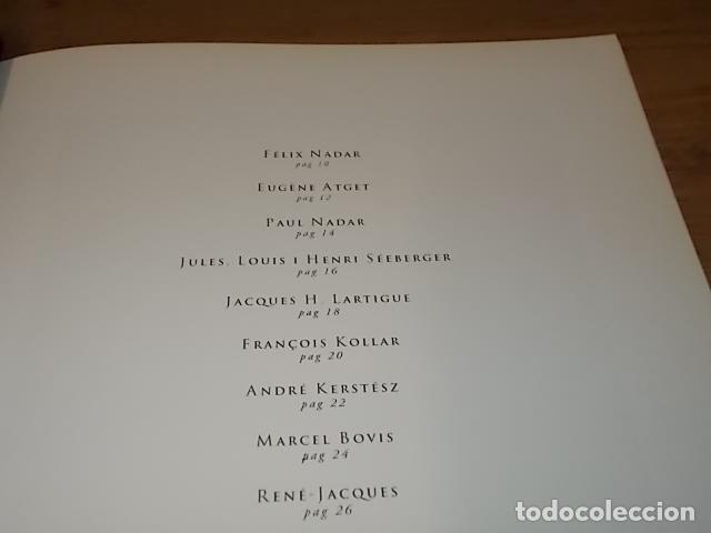 Libros de segunda mano: CENT CINQUANTA ANYS DE FOTOGRAFIA FRANCESA. SA NOSTRA.1ª EDICIÓN 1995.FÉLIX NADAR, KERSTÉSZ, RONIS. - Foto 5 - 146958486