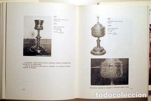 Libros de segunda mano: ESTEBAN LORENTE, Juan Francisco - LA PLATERÍA DE ZARAGOZA EN LOS SIGLOS XVII y XVIII (3 vol. - Compl - Foto 4 - 147287752