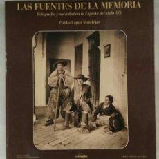 Libros de segunda mano: LAS FUENTES DE LA MEMORIA. PUBLIO LÓPEZ MONDEJAR. LUNWERG, 1989.. Lote 147515238