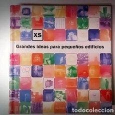Libros de segunda mano: GRANDES IDEAS PARA PEQUEÑOS EDIFICIOS - GG. Lote 147630178