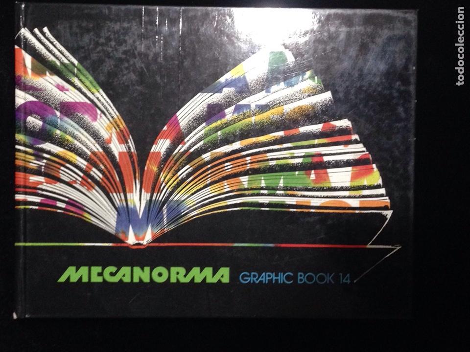 finest selection 26e41 d5c3f Mecanorma Graphic Book 14-Catalogo,año 1988.