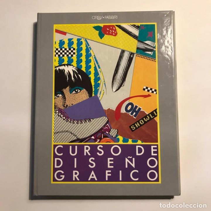 CURSO DISEÑO GRÁFICO. TOMO 1, 2 Y 3 ENTEROS. (Libros de Segunda Mano - Bellas artes, ocio y coleccionismo - Diseño y Fotografía)