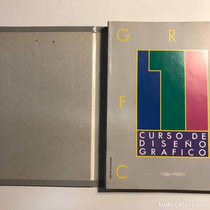 Libros de segunda mano: Curso Diseño Gráfico. Tomo 1, 2 y 3 enteros. - Foto 2 - 156820534