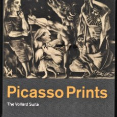 Libros de segunda mano: PICASSO PRINTS THE VOLLARD SUITE BRITISH MUSEUM 2012 1ª EDITION REMBRANDT SCULTOR MINOTAUR PORTRAITS. Lote 151320422