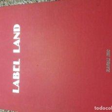 Libros de segunda mano: LABEL LAND (274 ORIGINAL IDEAS). Lote 151626070