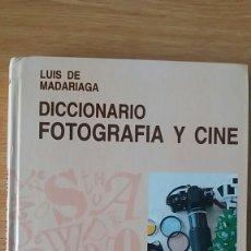 Libros de segunda mano: DICCIONARIO DE FOTOGRAFÍA Y CINE. Lote 152542850