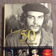 Libros de segunda mano: LOS 50 EN FOTOGRAFIAS. JAMES LESCOTT. PARRAGON 2008. Lote 152681566